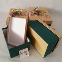 Papier cartonné d'emballage de papier à extrémité élevé