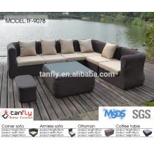 nice rattan dining sofa