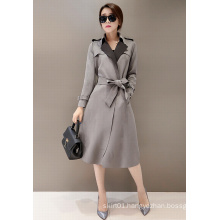 2015 Autumn and Winter New Fashion Single Suede Fabric Women Jacket