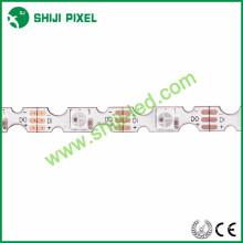 48LEDs / m DC5V S forma rgb 5v sk6812 lado emisión led flexible rgb tira led