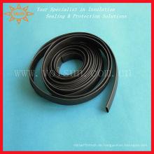 150C schwarze Wärmeschrumpfepdm-Gummischläuche