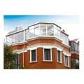 new design laminated glass aluminum house