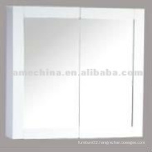 4mm thick glass two door silver mirror Vanity cabinet