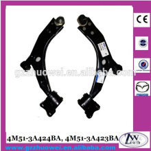 Front Track Control Arm, Lower Control Arm for Volvo Mazda 4M51-3A424BA, 4M51-3A423BA
