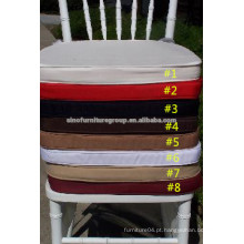 Design chiavari cadeira almofadas