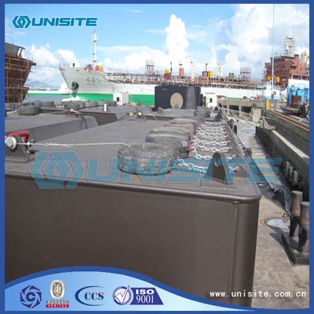 Marine Construction Steel Pontoons price