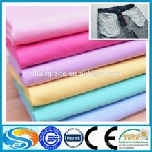 Tissu de poche en polyester poli polyester 35coton, tissu de doublure de poche