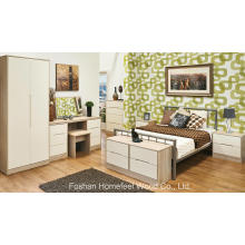 6 Piece Painting Bedroom Wardrobe Dresser Furniture Set (HH31)