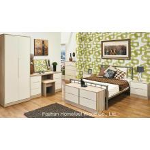 Conjunto de móveis de cômoda para armários de quarto de pintura de 6 peças (HH31)