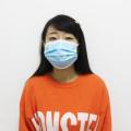 50pcs 3 camadas de máscara descartável de coronavírus