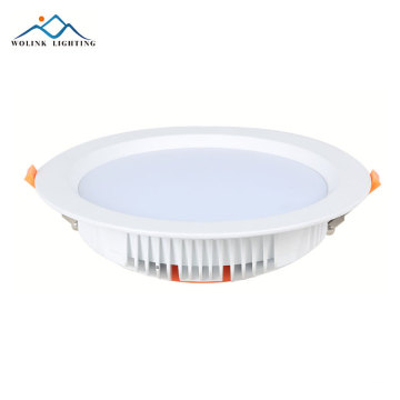 China fornecedor dimmable redondo IP65 impermeável recesso levou downlight
