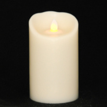 7 inch ivory luminara candle with timer