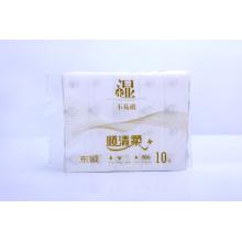 Tecido facial de limpeza macio não tecido descartável 100% das limpezas secas