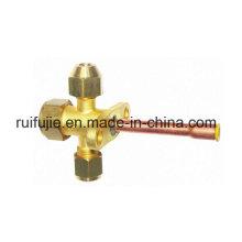 Válvula de corte de la válvula de corte de la válvula de cierre del acondicionador de aire