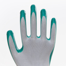 100% Nylon Best Price Nitrile Work Gloves
