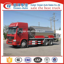 HOWO 10000 litros Sprayer Tar distribuidor de camiones China proveedor