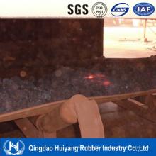 Bande transporteuse résistante aux hautes températures de champ de ciment