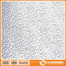 Alumínio em relevo em estuque de alta qualidade 1050
