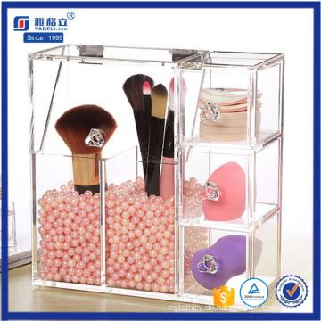 Yageli Clear Kosmetik Schmuck Organizer Pinsel Display Lagerung