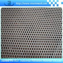 Hoja de malla de perforación de acero inoxidable de reducción de ruido