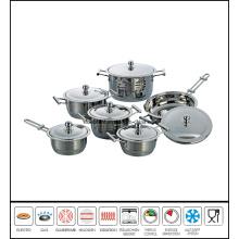 12 PCS Zebra Cookware Set