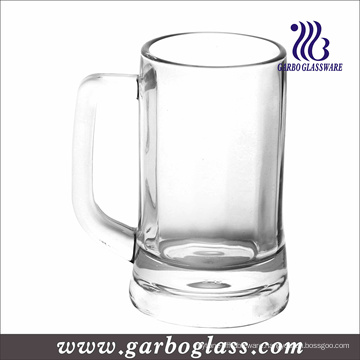 Glass Beer Mug with Handle