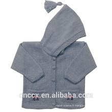 16STC1001 tricot bébé vêtements en cachemire