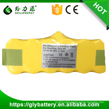 14.4v rechargeable NIMH battery pack for vacuum cleaner