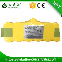 Bateria recarregável de 14,4V NIMH para aspirador