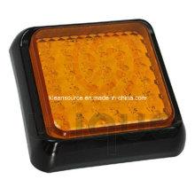 36 Желтых светодиодов Индикатор заднего хода грузового автомобиля