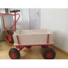 Metal pliage chariot chariot en bois pour artisanat