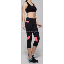 Mulher correndo Yoga Fitness esporte Legging