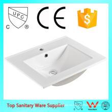 lavabo de mostrador / fregadero barato de cerámica / recipiente para la venta