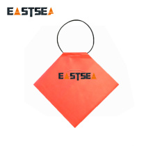 Bright Orange PVC Fabric Light Weight Traffic Safety Trailer Flag