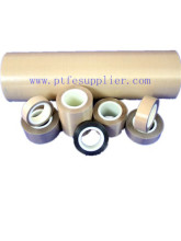 Standard PTFE  (Teflon) Coated Fiberglass Tape- Silicone Adhesive Backing