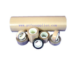 Standard PTFE  (Teflon) Coated Fiberglass Tape- Silicone Adhesive Backing