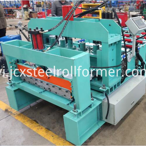 735 Glazed Tile Roll Forming Machine