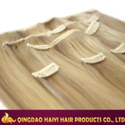Most Popular Brazilian Human Hair Clip in Hair