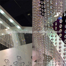 China Lieferant Kristall Vorhänge für Wohnzimmer Küche verwendet