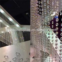 China proveedor cortinas de cristal para sala de estar cocina utilizada
