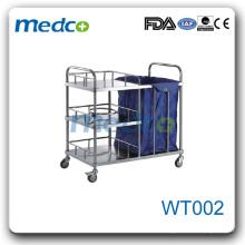 WT002 chariot à ordures pour hôpitaux