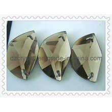Плоская стеклянные бусины (DZ-новый-007)