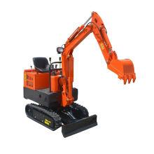 Máquinas de mini escavadeira hidráulica 1T