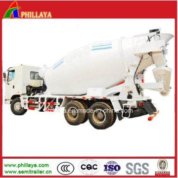 Mélangeur concret largement utilisé de mélangeur de réservoir de remorque / camion