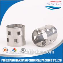O metal Pall de 16MM soa SS304, SS304L, SS316, SS316L