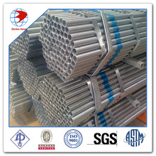 A53 screwed and socketed galvanized pipe