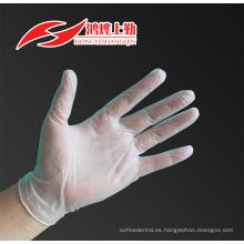 CE ISO certificado por la FDA guantes de vinilo dental.