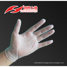 CE ISO FDA certified dental gloves vinyl