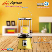 Best-seller Fashion Electrical Ceramic Infrared Heater,360 range of heating heater