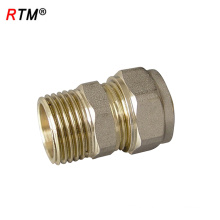 B 4 9 connector fitting brass coupling male female fitting